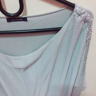 PROMOD Long Sleeves with Sequin