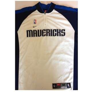 Dallas Mavericks -  Home Team Shooting / Warm-Up Shirt (2004 Season) - Nike