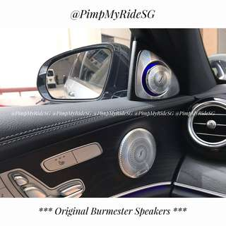 Original Burmester Speakers for Mercedes Benz! From $300 Onwards! PM For Good Price!