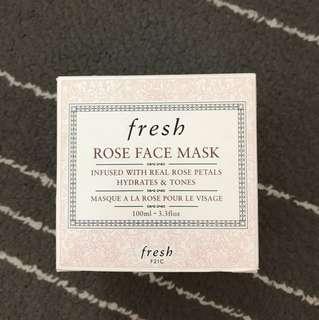 Fresh Rose Face Mask 🌹