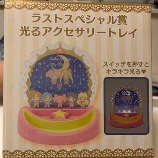 情人節精選♥️美少女戰士Sailor moon x My melody 25周年特別版 last獎 最終獎 發光首飾座