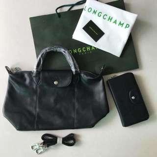 Longchamp Le Cuir Set