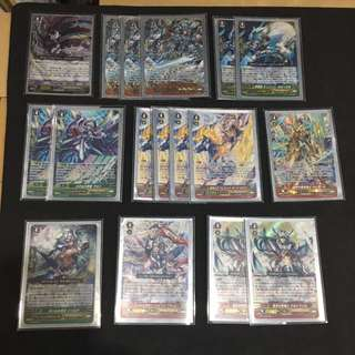 VANGUARD Royal Paladin Blaster Deck