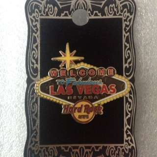Hard Rock Cafe Pins - LAS VEGAS (STRIP) HOT 2012 STRIP NEON SIGN SERIES # 2 (VEGAS WELCOME SIGN)!
