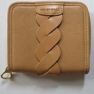 SEE BY CHLOÉ beige/pink wallet