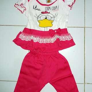 Baju Setelan Bayi Perempuan