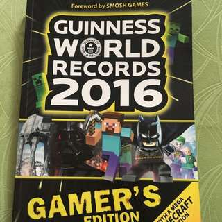 Selling away  guinness world record 2016 (gamers edition)