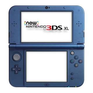 WTS Nintendo New 3DS XL / LL (metallic Blue, Jap region)