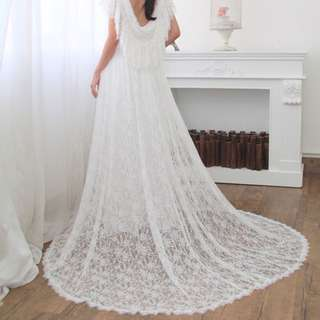 Tailor made vintage wedding gown