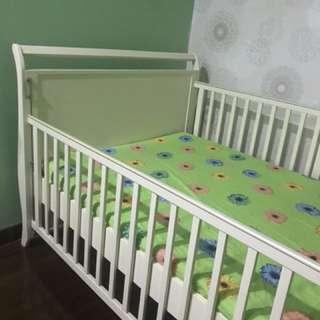 Preloved ranjang baby babybelle victoria big size