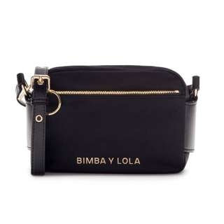 BIMBA Y LOLA small black crossbody bag