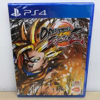 (Brand New) PS4 Dragon Ball FighterZ / R3
