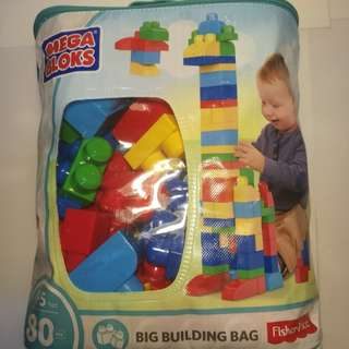 Fisher Price Mega Blocks 80pcs