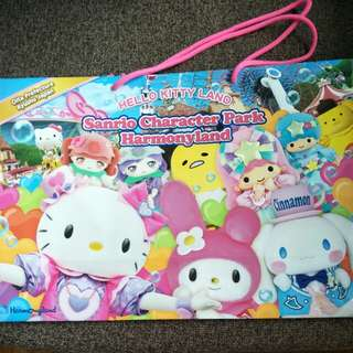 BN Limited Hello Kitty big paper bag