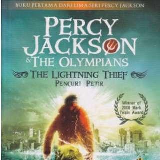 PERCY JACKSON & THE OLYMPIANS 1: THE LIGHTNING THIEF