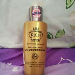 Rich Curl Enhancing Cream Pure Luxury Argan 120ml