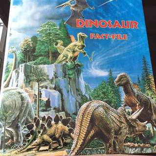 Dinosaurs fact- file