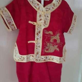 Baju I'm lek merah