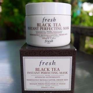 [全新專櫃正貨]  Fresh Black Tea Mask 紅茶瞬間修護面膜 100ml 保濕抗老