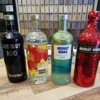 Brand New Abosolut Vodka Sealed
