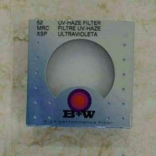 B+W Filter UV-Haze MRC 010 52mm