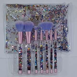 7pcs Glitter Brush