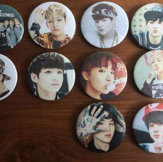 BTS Badges/Pins