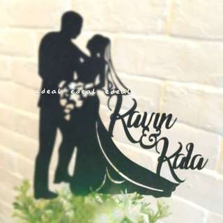 Customized/Customized Cake Topper