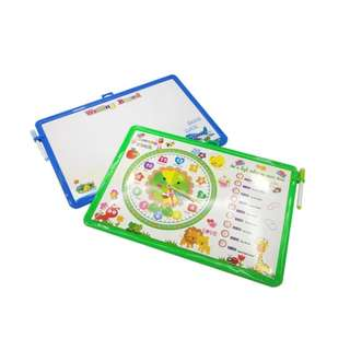 Whiteboard Magnetic Timetable Big