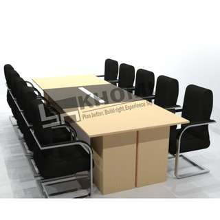 (3D) CUSTOMIZE CONFERENCE TABLES--KHOMI