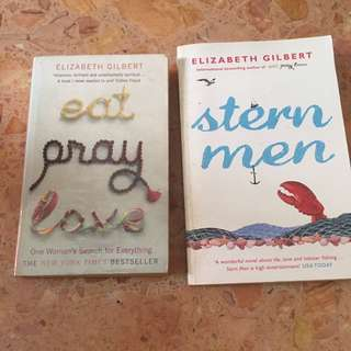 Books by Elizabeth Gilbert