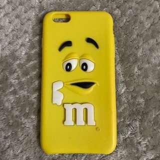 M&M's Yellow Iphone 6 Case