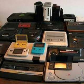 Looking For: Old/Retro Game Consoles/Handheld