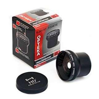 Opteka HD2 0.20X Professional AF Fisheye Lens