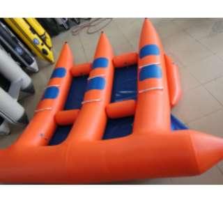 SU-FL06  6 seats flyfish inflatable banana boat