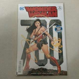 DC Wonder Woman comic variant