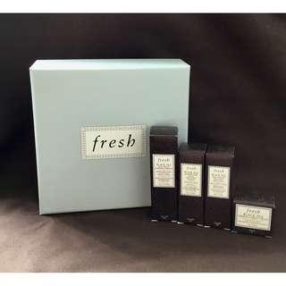 Fresh Black Tea Age-Delay 4-Piece Set (Travel/Trial Size)