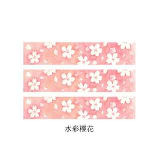 Floral/Sakura Washi Tapes