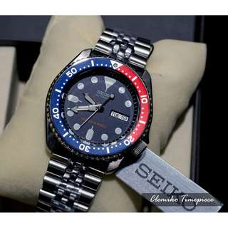 "SEIKO Automatic Diver's 200m ""SKX009K2"" ( 鋼錶帶 / 經典精潛 / 英文日歷 / 7S26 自動機芯 / SKX009J / SKX009K / SKX009 )(可簽卡/可分期/現金交易優惠)01/29"