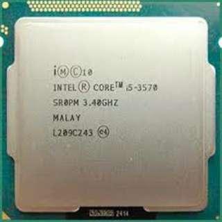 Intel Core I5 processor 3570 soket 1155