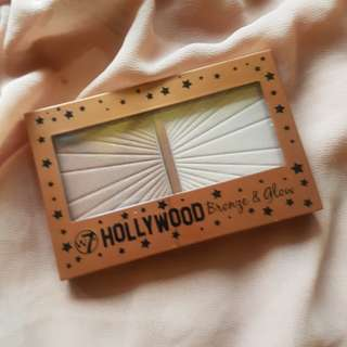 W7 Hollywood Bronze & Glow Palette/Duo