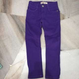 Wear once L.e.i. girl jeans 4T