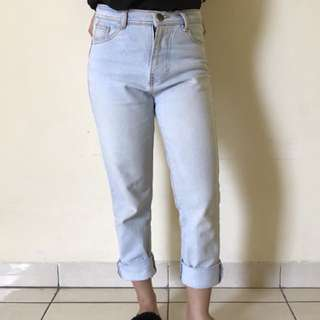 Boyfriend Jeans Blue Medium