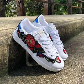 Gucci Flower Sneakers