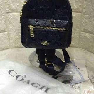 Coach mini bag pack