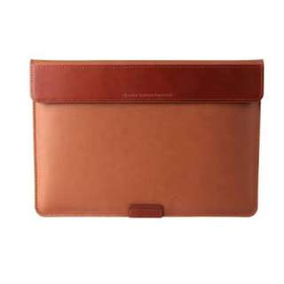 Befine Stand Pouch 2 for Macbook 12 Leather Brown