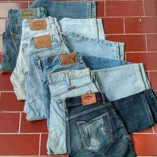 Jeans Panjang Branded Borongan!