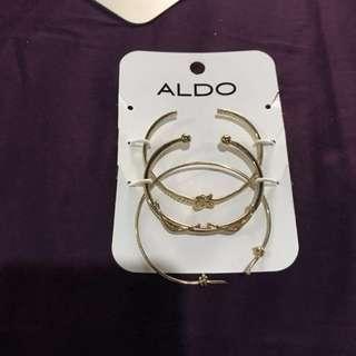 Aldo gold bracelets