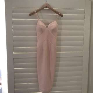 SHEIKE ENCHANTED MIDI DRESS (SIZE 6)