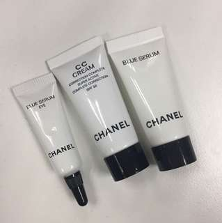Chanel Samples 3 Items